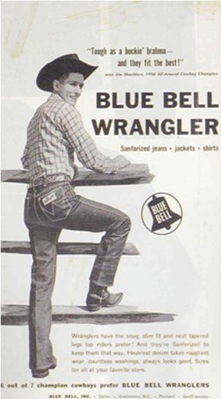 Wrangler Blue Bell