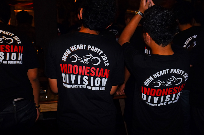 T-Shirt Iron Heart Indonesia division