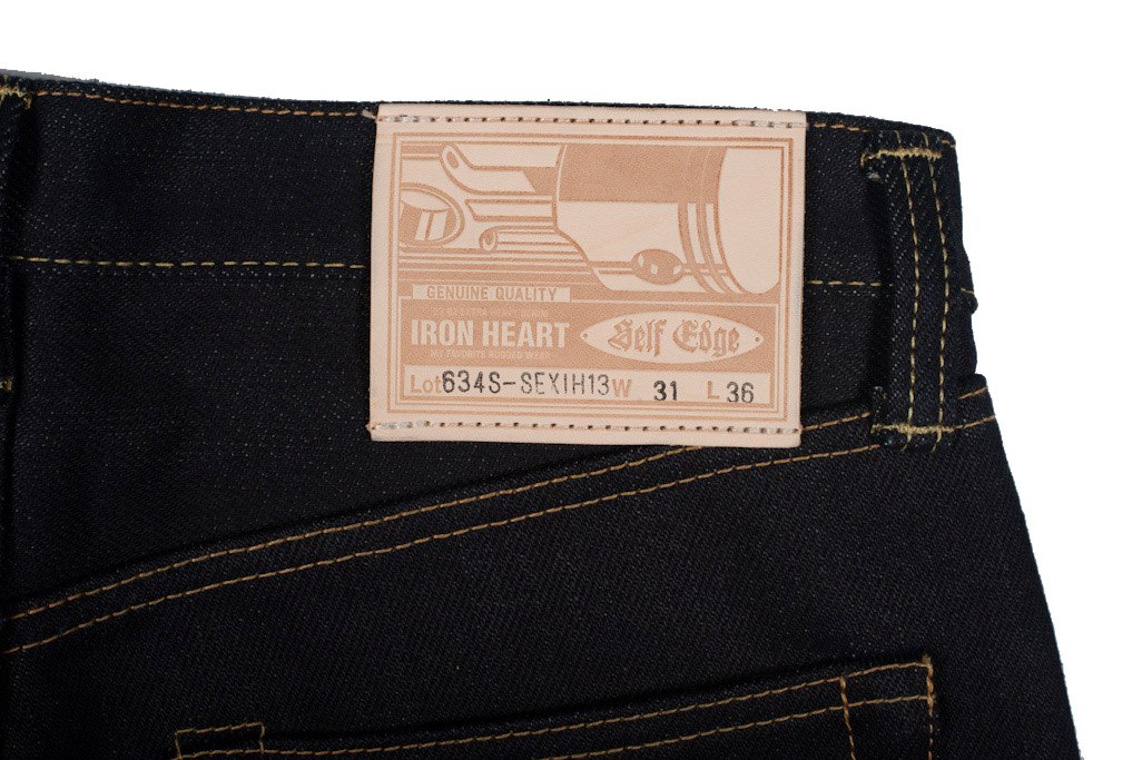 SEXIH13 leather patch