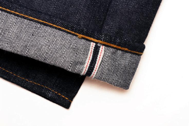 Hanzo Jeans Selvedge line